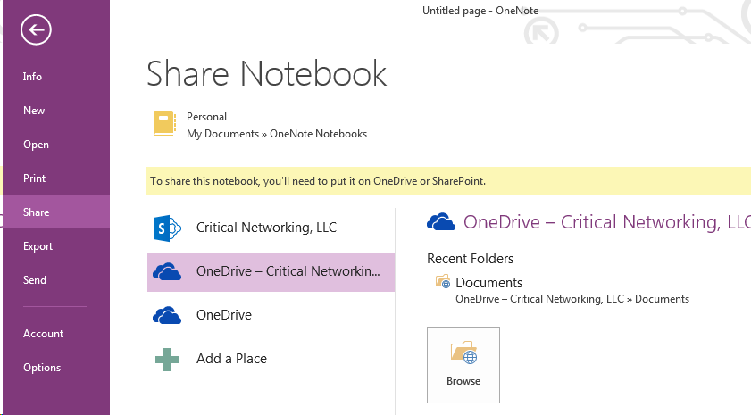 How to sync OneNote notes_3